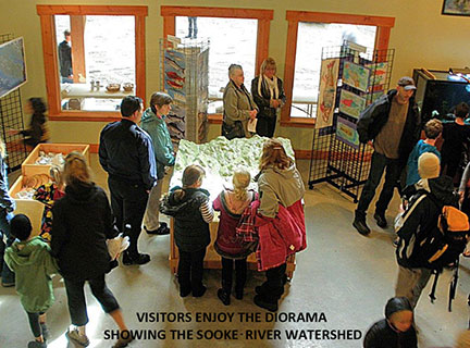 Interpretation and Exhbitions at the Charters River Salmon Interpretive Centre
